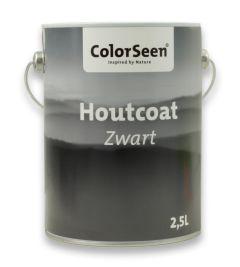 Colorseen Houtcoat Zwart